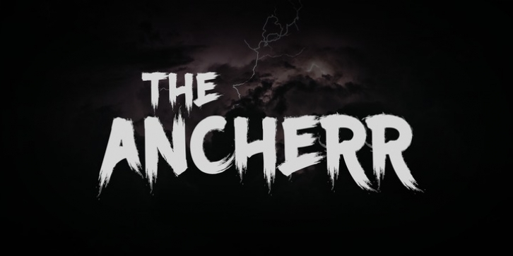Ancherr font preview