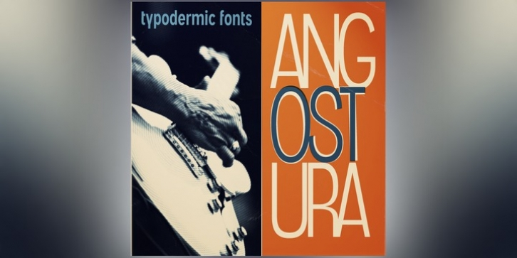 Angostura font preview