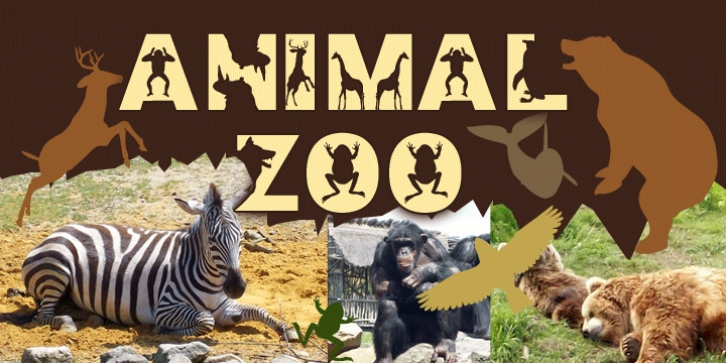 Animal Zoo font preview