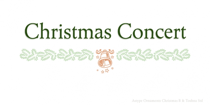 ASTYPE Ornaments Christmas B FONT Download