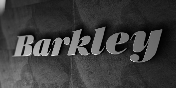 Barkley font preview