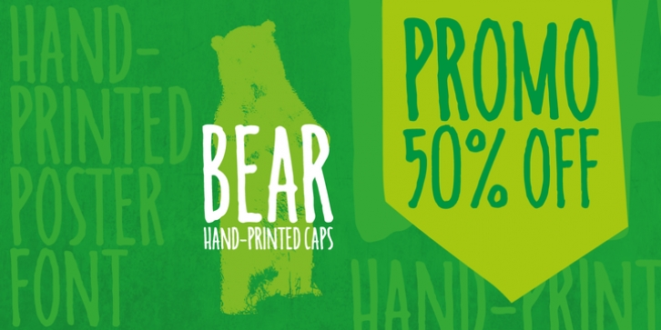 Bear font preview
