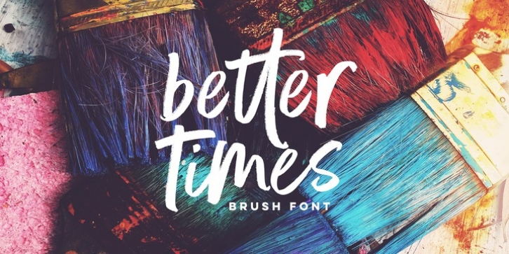 Better Times font preview