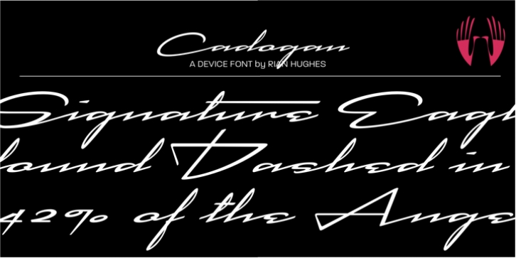 Cadogan font preview