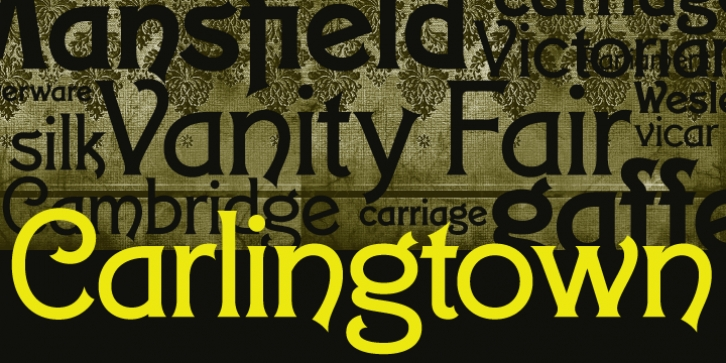 Carlingtown font preview