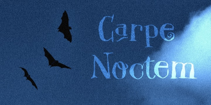 Carpe Noctem font preview