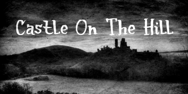 Castle On The Hill font preview