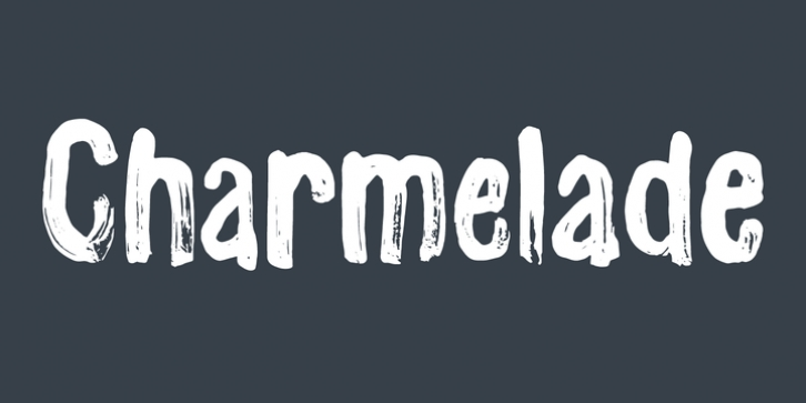Charmelade font preview