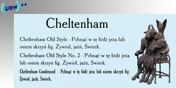 Cheltenham Old Style No 2 font preview