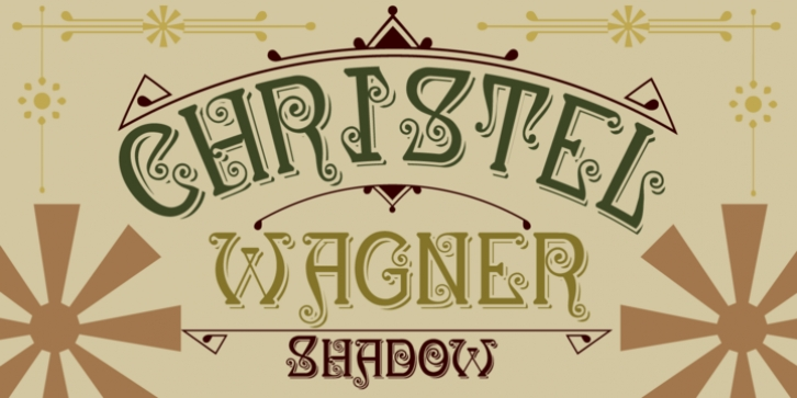 Christel Wagner font preview