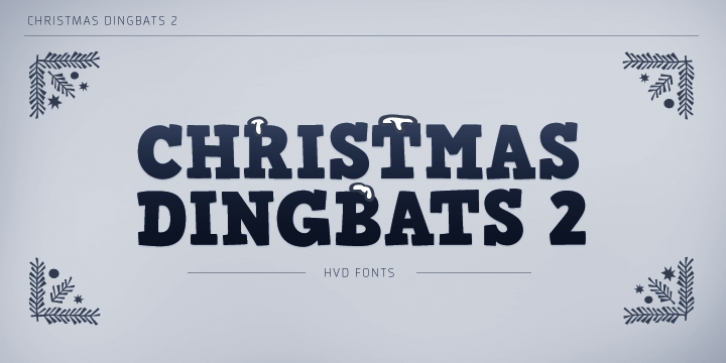 Christmas Dingbats 2 font preview