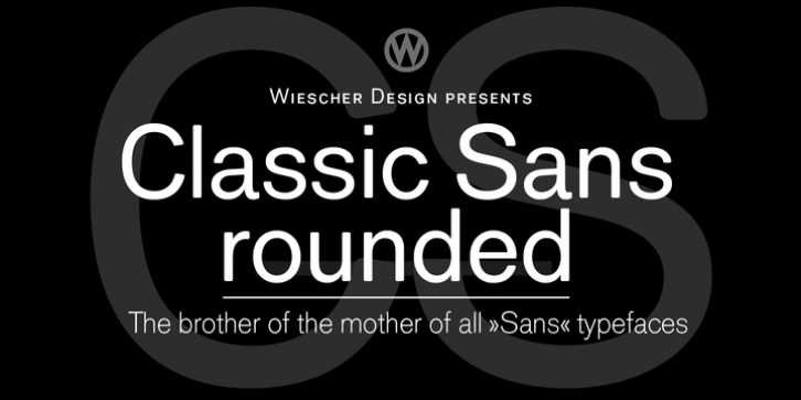 Classic Sans Rounded font preview