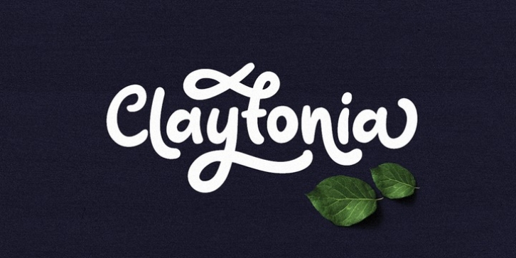Claytonia font preview