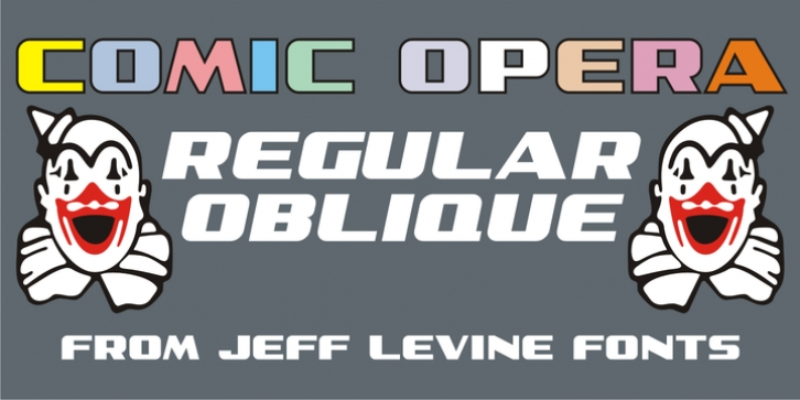 Comic Opera JNL font preview