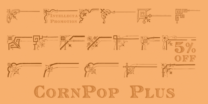 Corn Pop Plus font preview