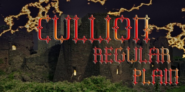 Cullion font preview