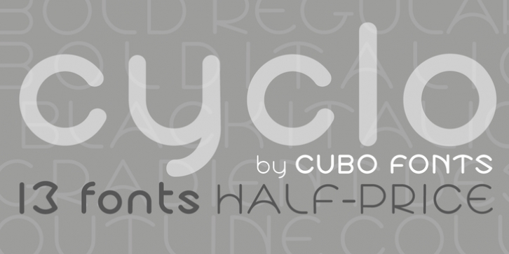 Cyclo font preview
