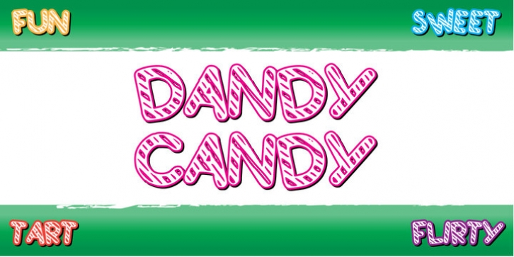Dandy Candy font preview