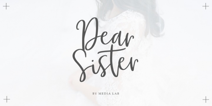 Dear Sister font preview