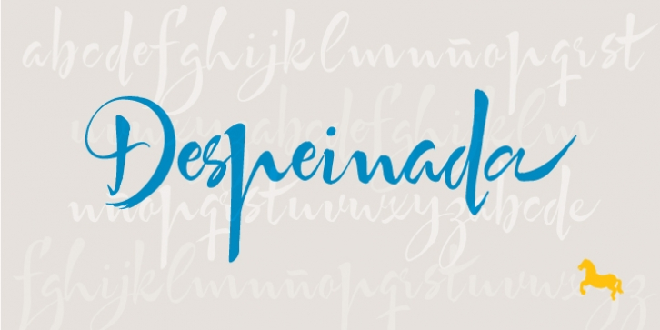 Despeinada font preview