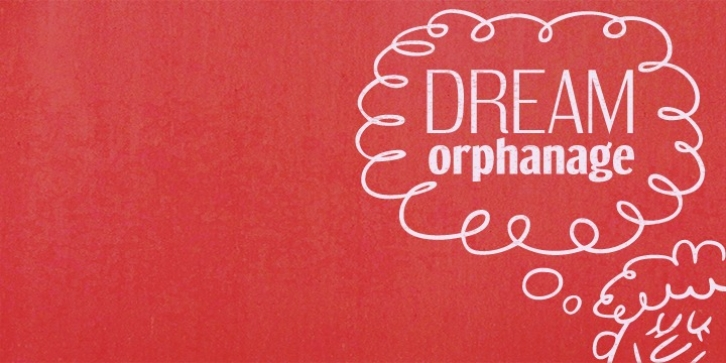 Dream Orphanage font preview