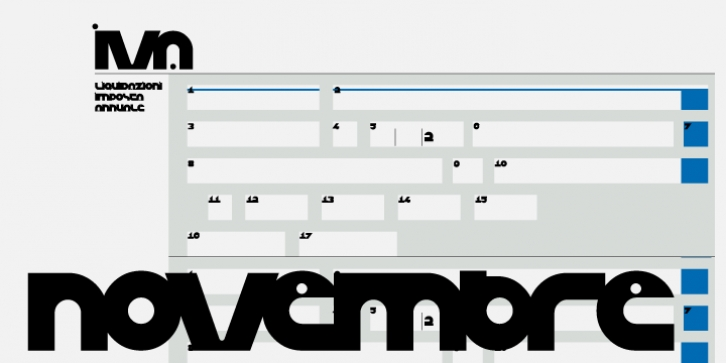 Eco font preview