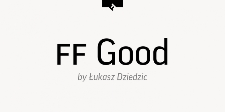 FF Good font preview