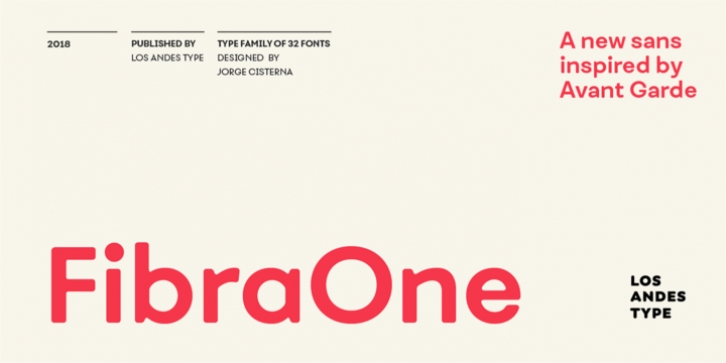 Fibra One font preview