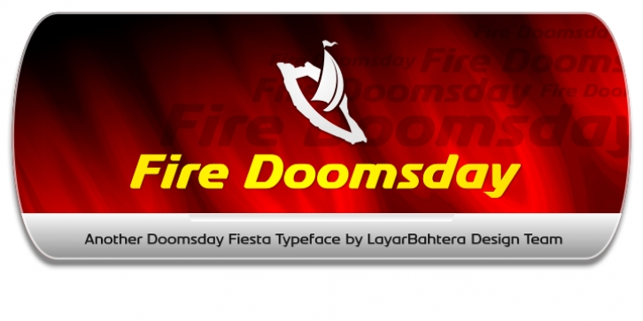 Fire Doomsday font preview