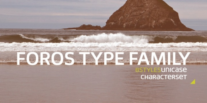 Foros font preview