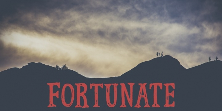 Fortunate font preview