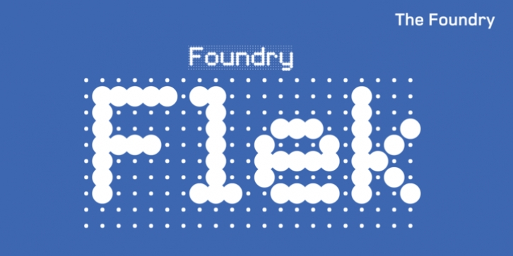 Foundry Flek font preview
