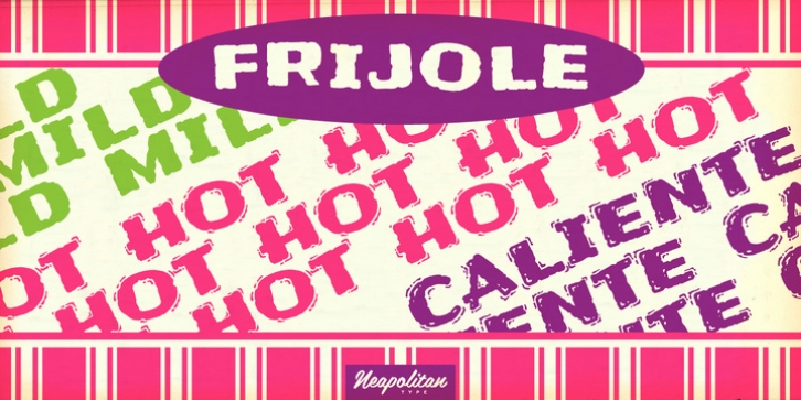Frijoles font preview