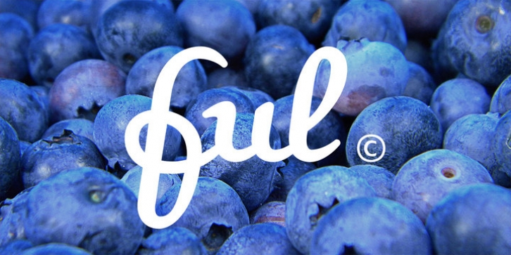 Ful • Fruitful & Universal Labels font preview