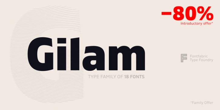 Gilam font preview