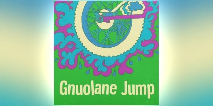 Gnuolane Jump font preview