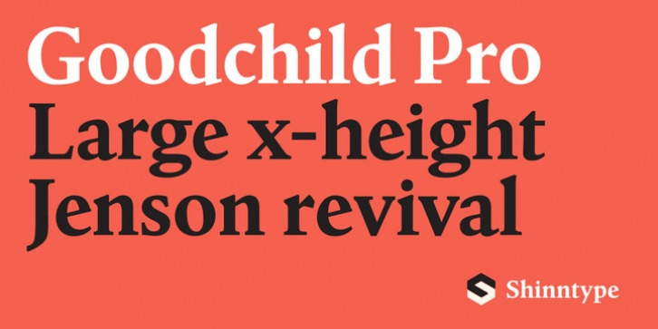 Goodchild Pro font preview