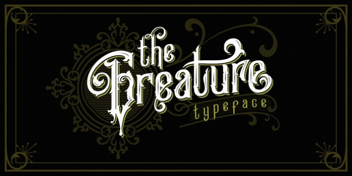 Greature font preview