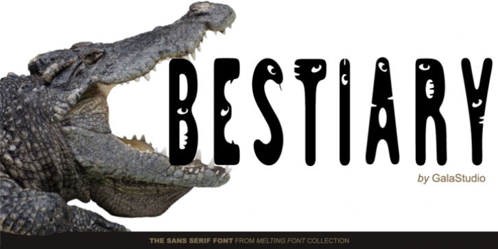 GS Slim One Bestiary font preview