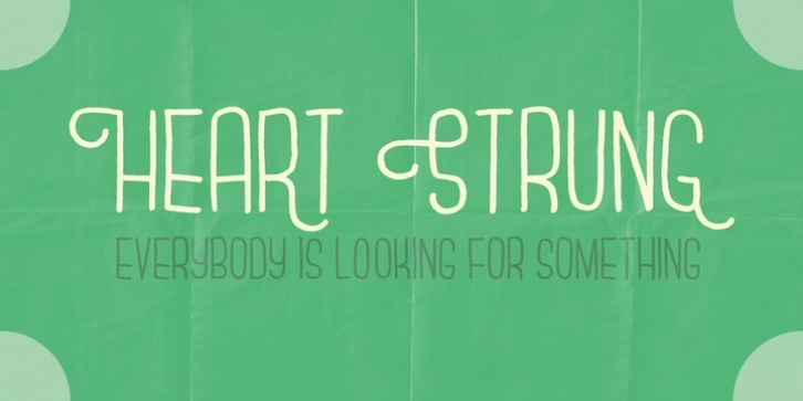 Heart Strung font preview