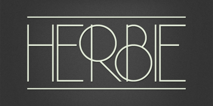 Herbie font preview