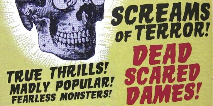 Horror Show FONT Download