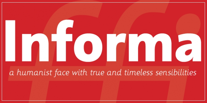 Informa font preview