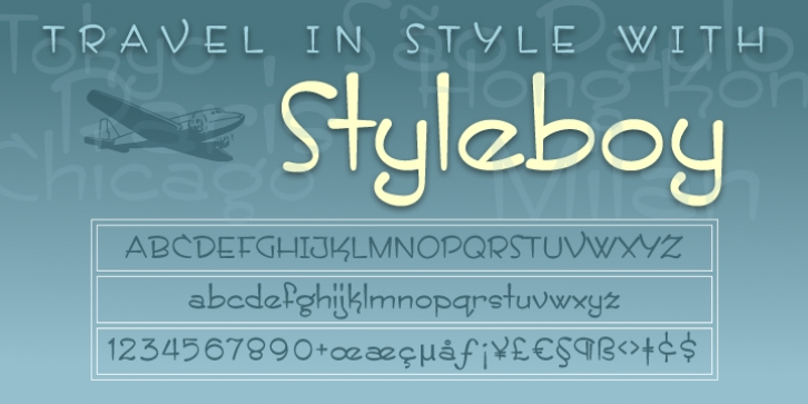 ITC Styleboy font preview