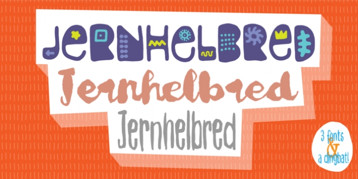 Jernhelbred font preview