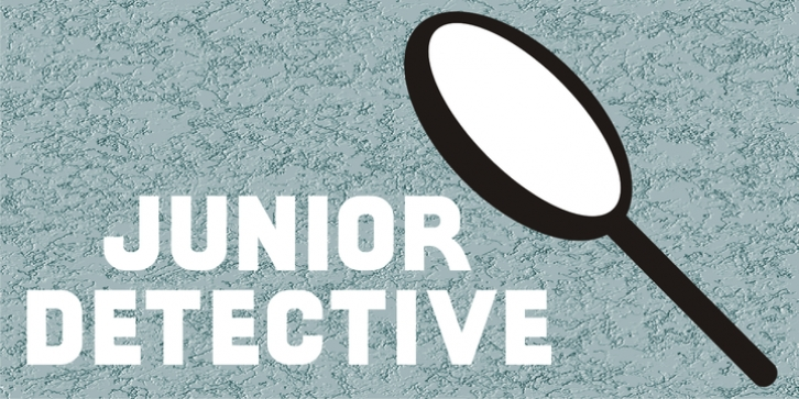Junior Detective JNL font preview