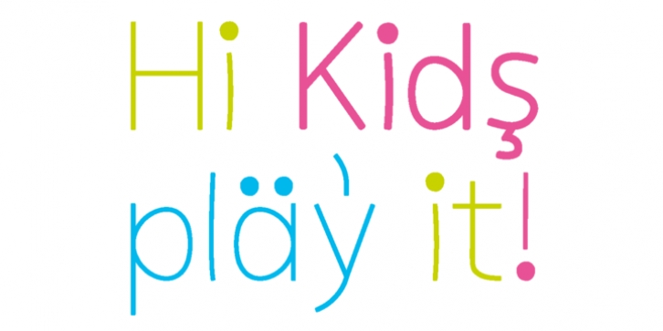 Kiddy Sans font preview