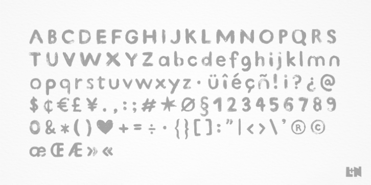 Kind Type font preview