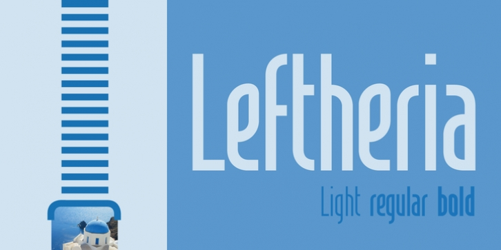 Leftheria font preview