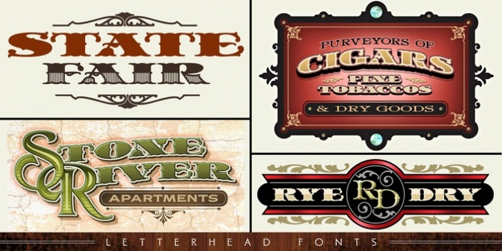 LHF State Fair font preview